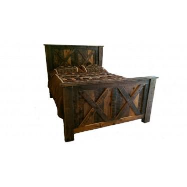 Reclaimed Barn Wood Bed | White Cedar | Barnwood