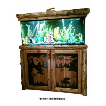 Log 55 Gallon Fish Tank