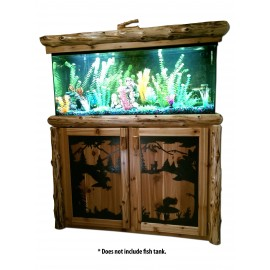 Log 55 Gallon Fish Tank