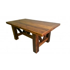 Reclaimed Barn Wood Timber Dining Table