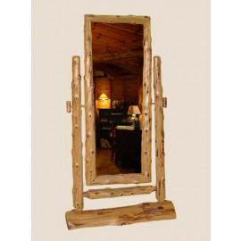 Log Standing Mirror