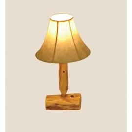 Log Table Lamp
