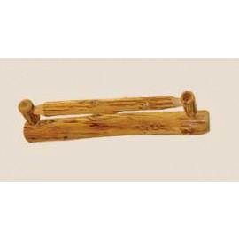 Log Towel Bars