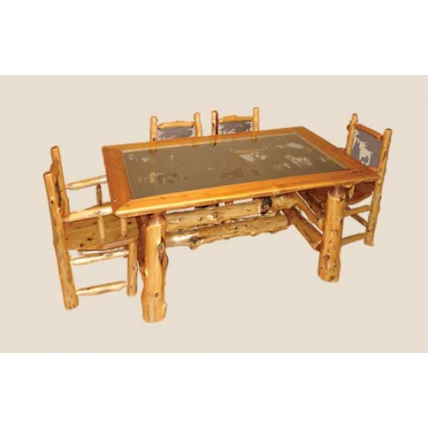 Cedar Log Dining Room Furniture