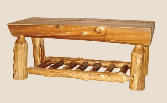 Half log coffee table log coffee table white cedar for Log coffee table