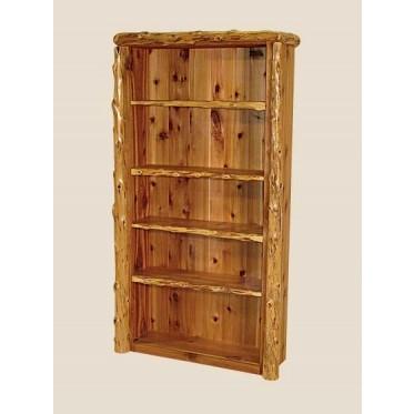 Log Office Shelf
