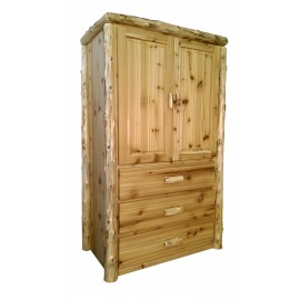 Log Armoire with doors