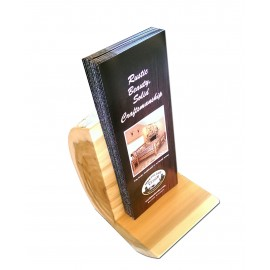 Log small brochure holder/display